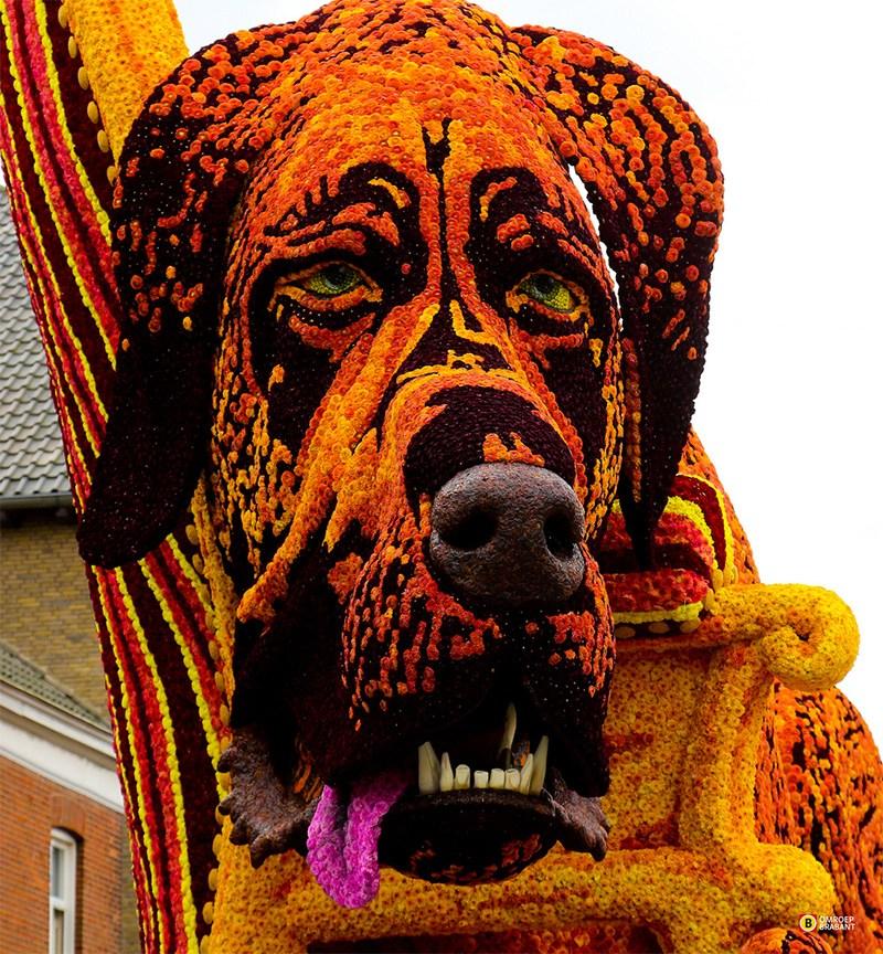 escultura florais Zundert Holanda