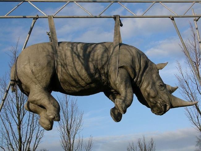 escultura II rino podstan alemanha]