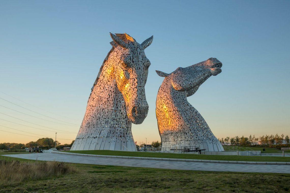Kelpies Escócia