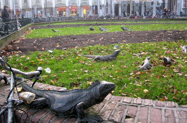 Parque Iguana Amsterdã