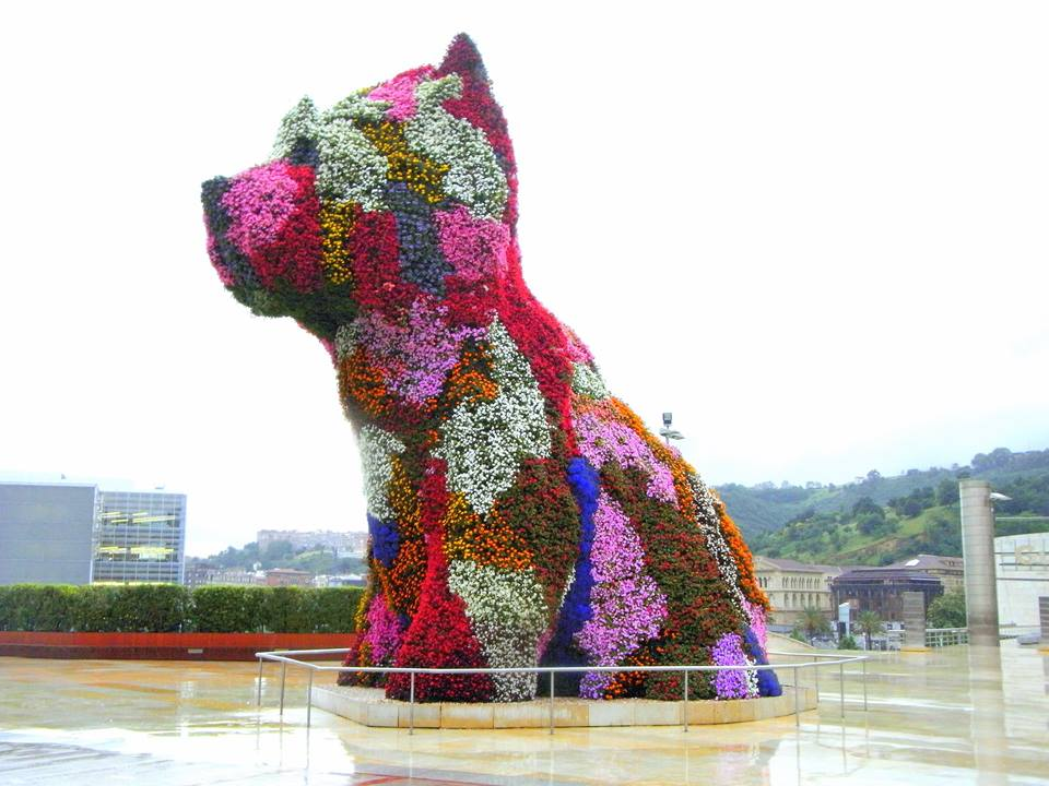 Puppy escultura vegetal Jeff Koons