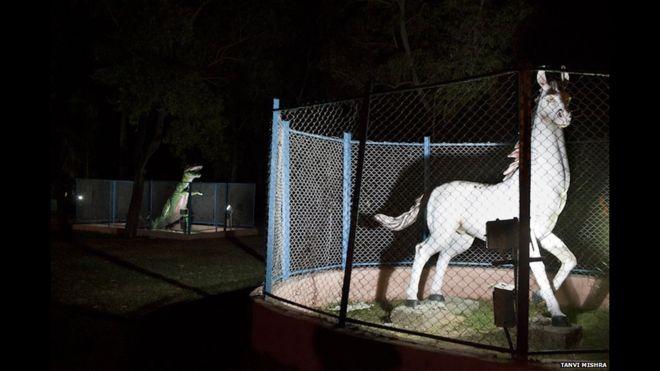 zoo de estátuas índia